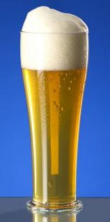 Weizenbierglas 0, 3L / 0, 5L SAN glasklar aus Kunststoff wiederverwendbar und robust - Vorschau 2