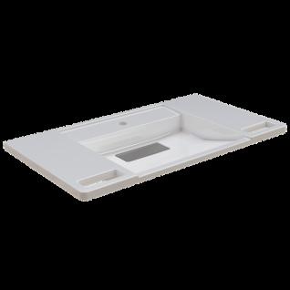 Franke EXOS. Einzelwaschtisch - Barrierefrei aus MIRANIT 900 mm breit