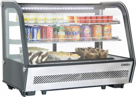 Casselin Kühlregal 160l mit Doppelverglasung und LED-Beleuchtung - zwei Lüfter - Vorschau
