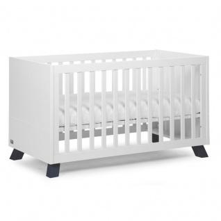 Childwood Union Marin Baby und Kinderbett B140UM in weiß