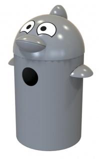 Buddy Delfin Abfalleimer aus Kunststoff55 Liter