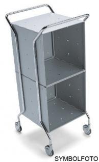 Graepel High Tech hochwertiger WEEL-U Trolley aus lackiertem Stahl