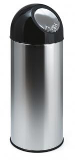 Abfallbehälter mit Druckdeckel 55 Liter
