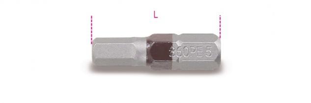 Beta Farbige Sechskant-Schraubeinsätze 860PE
