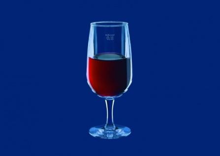 6er Set Weinglas 0, 1l SAN Glasklar aus Kunststoff wiederverwendbar - Vorschau 2