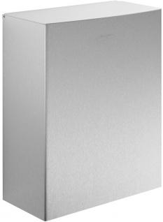 Wagner-EWAR Hygiene-Abfallbehälter 12l WP179-2 Edelstahl für Aufputzmontage