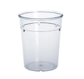 20er Set Mehrweg-Becher 0, 2l PC glasklar aus Kunststoff wiederverwendbar