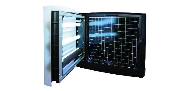 Genus® Optica JET Translucent Insektenvernichter IP65 2 x 15 Watt Wandmontage - Vorschau 2