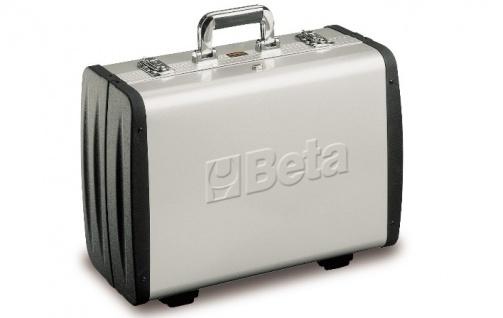 Beta Werkzeugkoffer leer aus Aluminium, Seiten aus ABS-Kunststoff zu 2033P