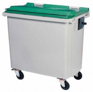 Rossignol Mülltonne ohne Schiene mit 4 Rädern entspricht der Norm EN-840 1 bis 6 - Vorschau 3