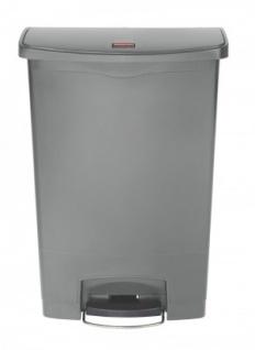 RUBBERMAID Slim Jim® Kunststoff-Tretabfallbehälter mit Pedal an der Breitseite 90 L - Vorschau 3