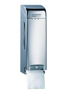 Mediclinics Abschließbarer Toilettenpapierspender für 3 Rollen - Vorschau 2