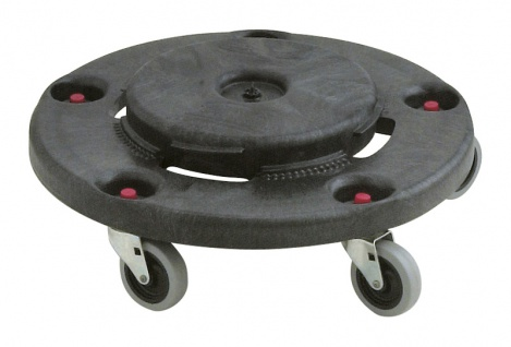 Brute Dolly, Rubbermaid Schwarz