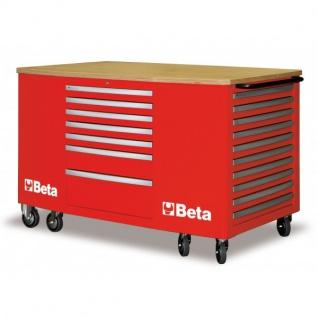 Beta Mobiler Arbeitsplatz mit 28 Schubladen - in 3 Farben erhältlich - Vorschau 2