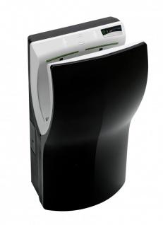 PlastiQline Twinflow automatischer Kunststoff Händetrockner schwarz 420-1100 Watt