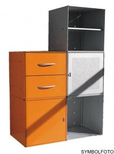 Graepel High Tech 2 hochwertige Schubladen aus gebürstetem Edelstahl - Vorschau 2
