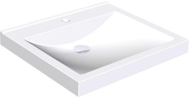 Franke Waschtisch ANMW410 aus mineralischem Werkstoff zur Wandmontage