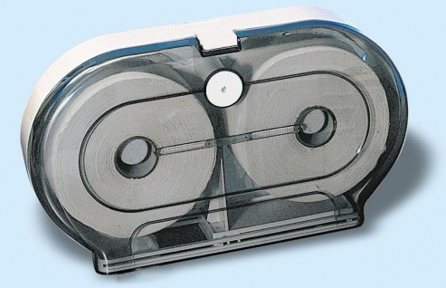 Marplast Rollmatic Toilettenpapierspender transparent MP 595 aus Kunststoff
