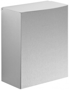 Wagner-EWAR Hygiene-Abfallbehälter 5l WP179 Edelstahl für Aufputzmontage