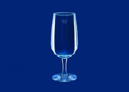 6er Set Weinglas 0, 1l SAN Glasklar aus Kunststoff wiederverwendbar - Vorschau 4