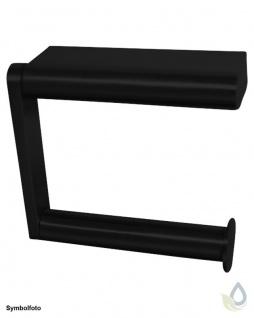 "Proox® ONE dark passion DP-385 einfacher WC Rollenhalter "" extra strong"" Aluminium"