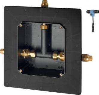Franke Rohbauset für elektronische gesteuerte Thermostatarmaturen zum Wandeinbau
