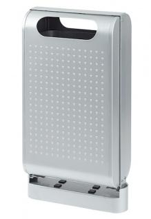Rossignol Urbanet Abfallbehälter 60 Liter aus rostfreiem Stahl mit Standfuss