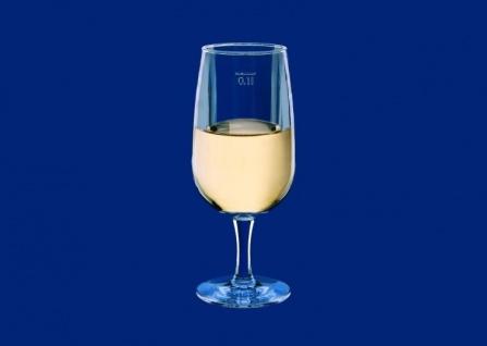 6er Set Weinglas 0, 1l SAN Glasklar aus Kunststoff wiederverwendbar - Vorschau 3