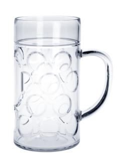 SET 30 St. Kunststoff Maß Krug 1l SAN Glasklar Spülmaschinen fest, lebensmittelecht - Vorschau 1