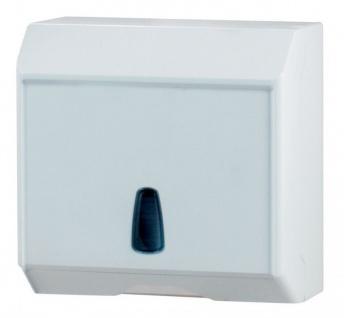 Marplast Multicart Papierhandtuchspender weiß MP 534 - 250Stk. C-Falz, Z-Falz