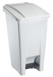 Rossignol fahrbarer Abfallbehälter mit Pedal 60L aus Polyethylen-Kunststoff - Vorschau 2