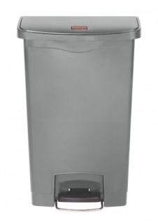 RUBBERMAID Slim Jim® Kunststoff-Tretabfallbehälter mit Pedal an der Breitseite 50 L - Vorschau 3