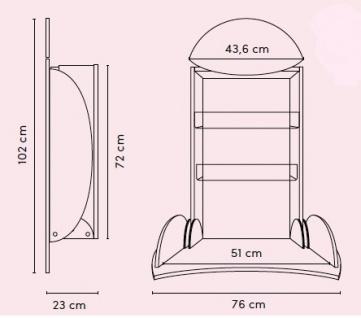 Wickeltisch owo hpl im Marienkäfer-Stil von Timkid - Vorschau 3