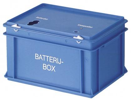 Batteriebehälter Blau