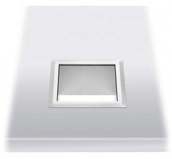 Wagner-EWAR Einwurfrahmen 170x170x100 WP145 Edelstahl für Untertischmontage - Vorschau 1