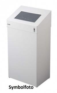 Dan Dryer Classic Design Abfallbehälter 50L aus Edelstahl mit Schwingverschluss