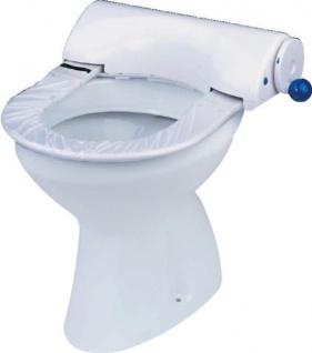 Sani Seat Manual Spender WC Abdeckung Hygieneschutz Auflagen