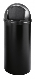 Marshal Container 56, 8 Liter, Rubbermaid Schwarz