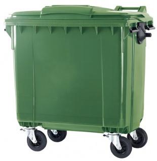 Container 770 Liter flachem Deckel