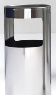 Graepel G-Line Pro LIVIGNO Design Standascher aus poliertem Edelstahl 1.4016