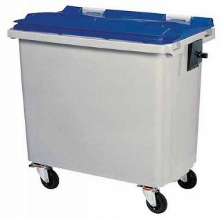 Rossignol Mülltonne ohne Schiene mit 4 Rädern entspricht der Norm EN-840 1 bis 6 - Vorschau 2