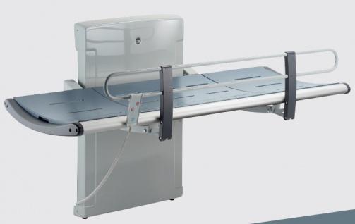 Pressalit Dusch- und Pflegeliege 3000 mit Elektromotor, 1300mm oder 1800mm Länge