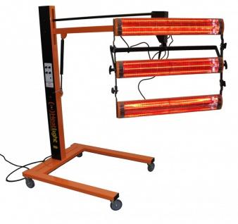 Heatlight Infrarot Lack- und Farbtrockner 4500W mit Distanz- u. Temperatursensor