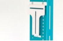 Adapter zur Montage von jeglichen Desinfektionsmittelspendern auf Desinfektionssäule ED000001, ED000019 und ED000020