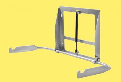 Koala Baby Wickelstation KB-200 Horizontal Elfenbein mit MICROBAN® Hygieneschutz - Vorschau 3