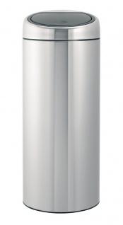 Touch Abfallbehälter 30 Liter, Brabantia Edelstahl gebürstet Fpp