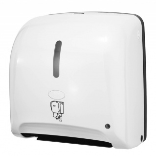 Hyprom Tear'n Dry Papierhandtuchspender Mini Weiss ''no-touch'' Automatisch