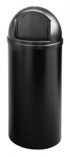 Marshal Container 56, 8 Liter, Rubbermaid Schwarz