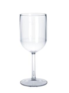 Kunststoff Weinglas 1/8l - 1/4l SAN glasklar wiederverwendbar Spülmaschinen tauglich - Vorschau 1