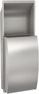Franke Abfallbehälter Stratos STRX605E aus Edelstahl zur Unterputzmontage